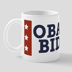 obama-biden-white-red-star-bumper Mug