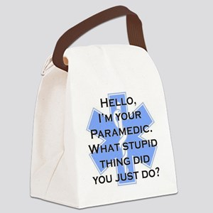 Im Your Paramedic Canvas Lunch Bag