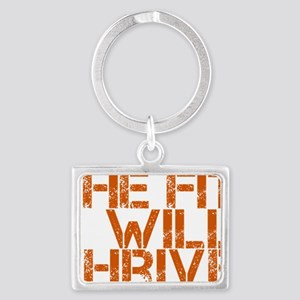 The Fit Will Thrive Landscape Keychain