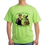 Al's Inconvenient Loot Green T-Shirt