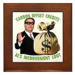 Al's Inconvenient Loot Framed Tile