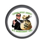 Al's Inconvenient Loot Wall Clock