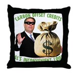 Al's Inconvenient Loot Throw Pillow
