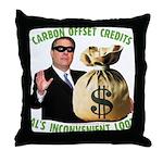 Al's Inconvenient Loot Throw Pillow