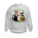 Al's Inconvenient Loot Kids Sweatshirt
