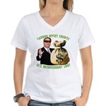 Al's Inconvenient Loot Women's V-Neck T-Shirt