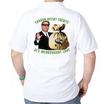 Al's Inconvenient Loot Golf Shirt
