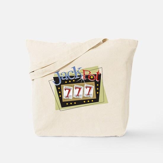 Jackpot 777 Tote Bag
