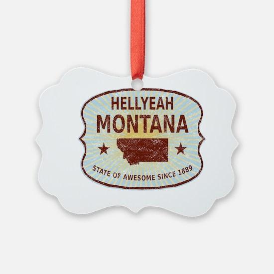 Hellyeah Montana Ornament