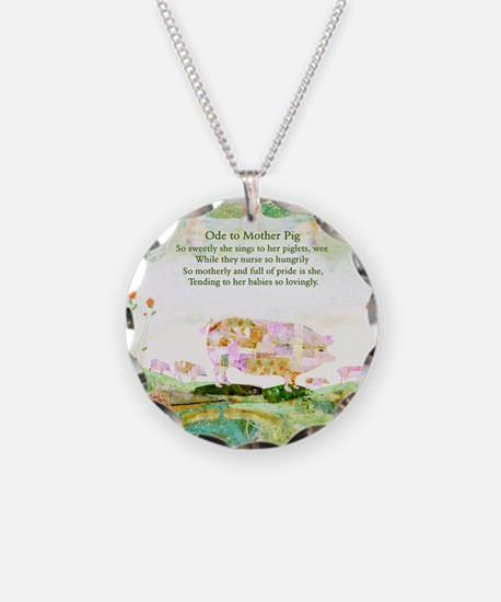 Ode to Mother Pig Necklace