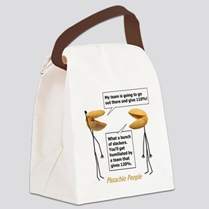 Give 110%! Canvas Lunch Bag
