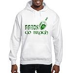 Irish & Jewish Aaron Go Bragh Hooded Sweatshirt