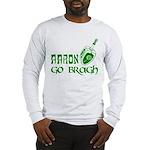 Irish & Jewish Aaron Go Bragh Long Sleeve T-Shirt