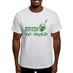 Irish & Jewish Aaron Go Bragh Light T-Shirt
