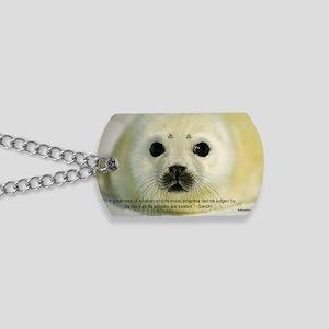 Protect Harp Seals Dog Tags