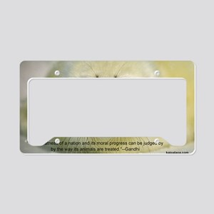 Protect Harp Seals License Plate Holder