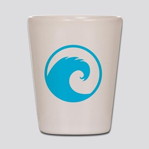 Ocean Wave Design Shot Glass
