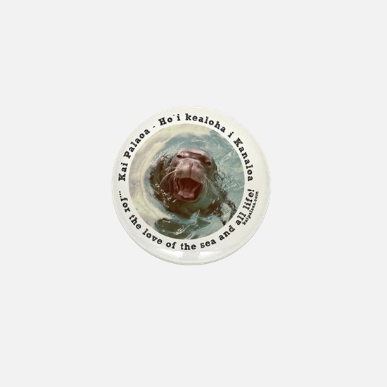 Protecting Hawaiian Monk Seal Mini Button