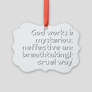 godworks1 Picture Ornament