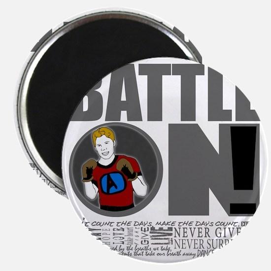 "Aaron Schulte ""Battle On"" Magnet"