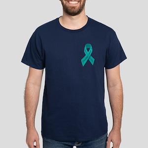 Ovarian cancer awareness Dark T-Shirt
