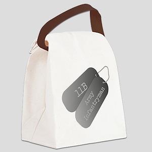 11B infantryman Canvas Lunch Bag