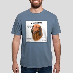 Longhair Dachshund Mens Comfort Colors Shirt