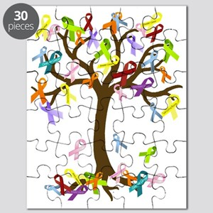 Ribbon Tree Puzzle