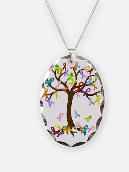 Ribbon Tree Necklace