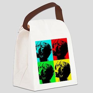 Pop Vizsla Canvas Lunch Bag