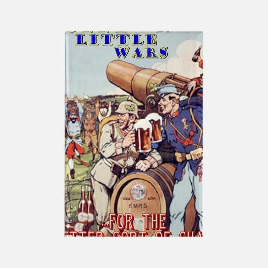 Funny Little Wars T-Shirt (#1) Rectangle Magnet