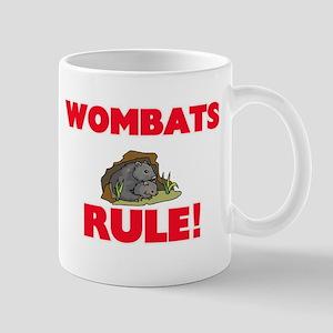 Wombats Rule! Mugs