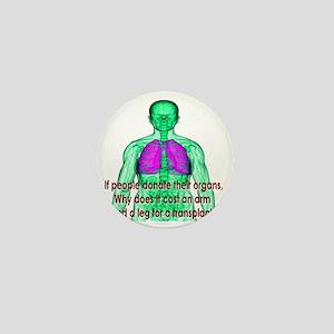 Organ Donor Rip-Off Mini Button