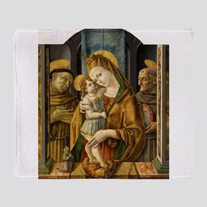 Madonna and Child with Saints and Donor - Carlo Cr
