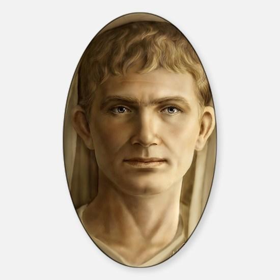 11x17 Emperor Augustus Sticker (Oval)