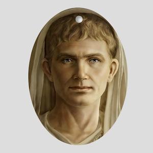 11x17 Emperor Augustus Oval Ornament