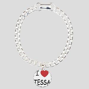 i heart tessa Charm Bracelet, One Charm