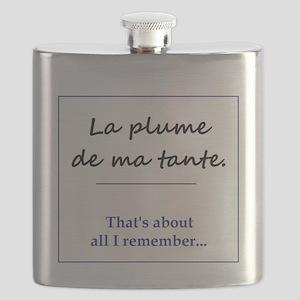 La Plume de ma Tante Flask