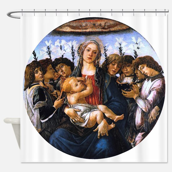 Madonna and Child with Eight Angels - Botticelli S