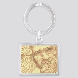 The Dude  Landscape Keychain