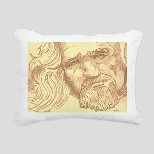 The Dude  Rectangular Canvas Pillow