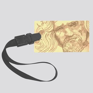 The Dude  Large Luggage Tag