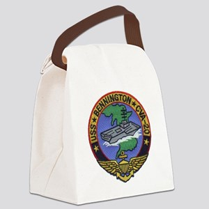 uss bennington cva patch transpar Canvas Lunch Bag