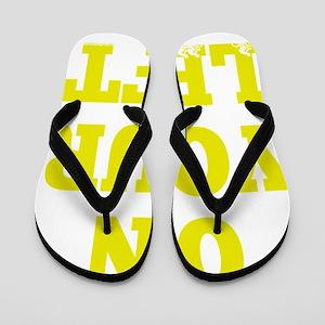 OYL_Yellow Flip Flops