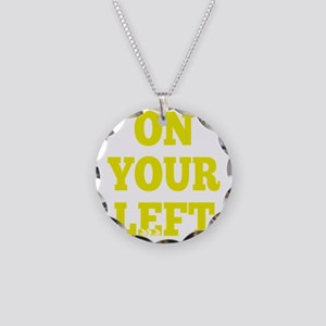 OYL_Yellow Necklace Circle Charm