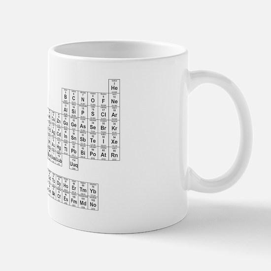 Periodic table mugs cafepress periodic table mug urtaz Image collections