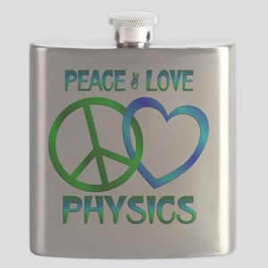 Peace Love Physics Flask