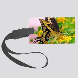 greeting-card---swallowtail-butt Large Luggage Tag