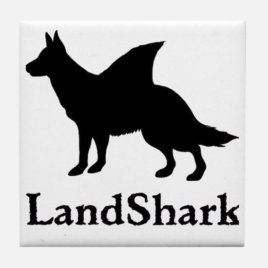 LandShark Tile Coaster