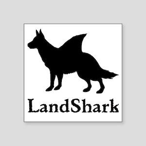"LandShark Square Sticker 3"" x 3"""